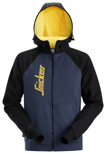 Kapuzensweatshirt,navy-black