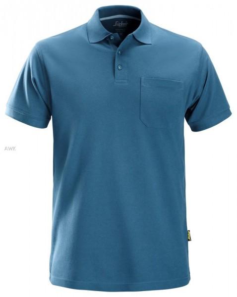 Polo Shirt, Ocean blue