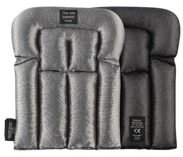 Bodenleger Kniepolster, Black\ Aluminium grey