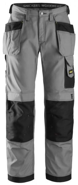 Handwerkerhose, Rip-Stop mit HP, Grey\Black