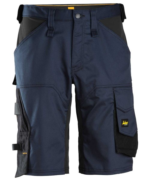 AllroundWork, Stretch Loose Fit Work Shorts, navy