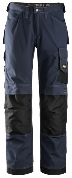 Handwerkerhose, Rip-Stop, Navy\Black