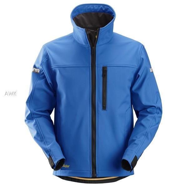 AllroundWork Softshell Jacke, True Blue/Black