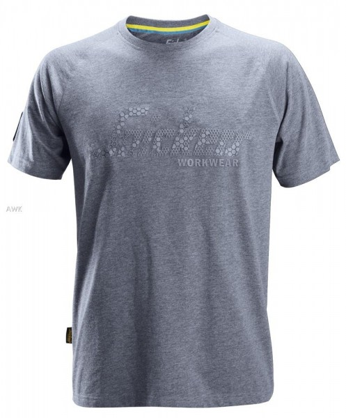 Logo T-Shirt, Dark Blue Melange, MG200