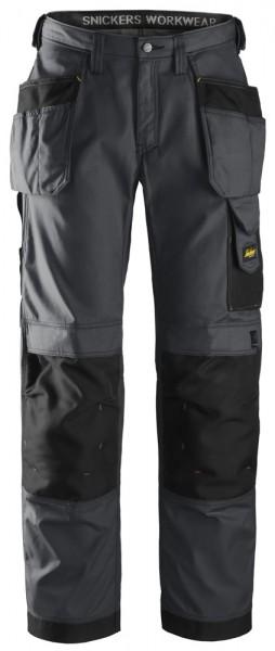 Handwerkerhose, Rip-Stop mit HP, Steel grey\Black