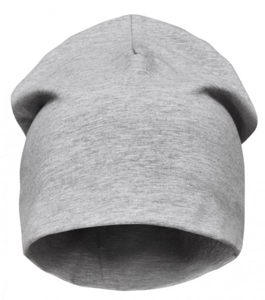AllroundWork Baumwoll-Mütze, Light Grey Melange