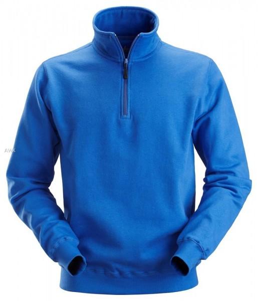 Sweatshirt Troyer, Steel blau