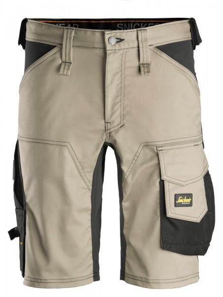 """Stretch Shorts """"AllroundWork"""", khaki/Black"""