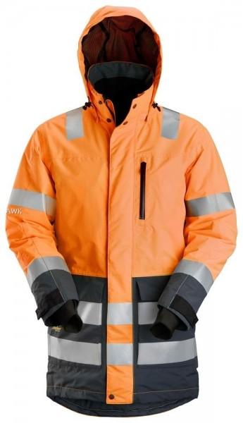 High-Vis AllroundWork wasserdichter Parka, orange