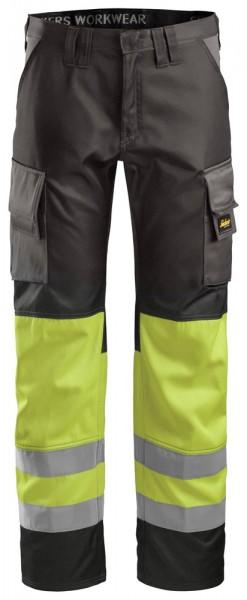 High-Vis Bundhose, Klasse 1,gelb
