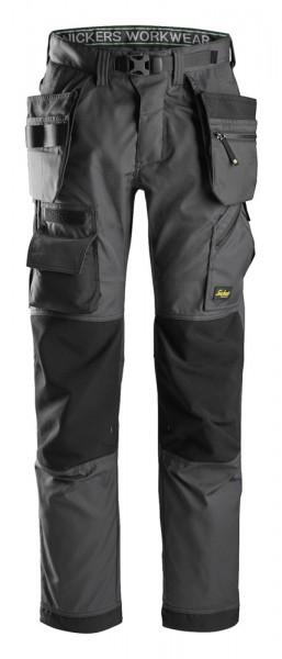 FlexiWork Bodenlegerhose, Steel Grey\Black