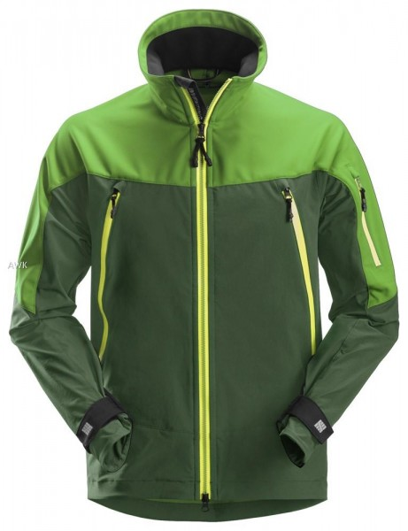 FlexiWork Stretch Arbeitsjacke, Apple Green/Forest