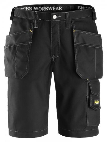 Handwerker Shorts mit Holstertaschen, Rip Stop, Bl