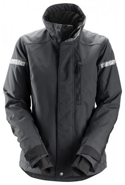 Damen-Winterjacke AllroundWork 37.5, Grey\Black