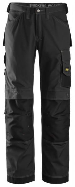 Handwerkerhose, Rip-Stop, Black\Black
