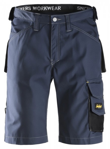 Handwerker Shorts, Rip Stop, Navy\Black