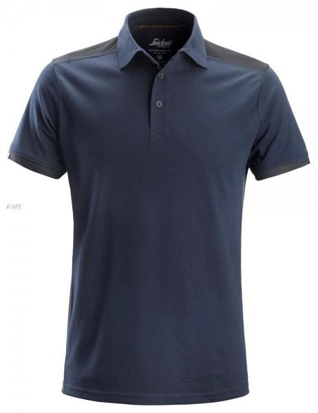 AllroundWork Polo Shirt, Navy - Steel Grey