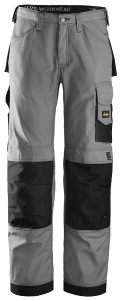 Handwerkerhose, Rip-Stop, Grey\Black