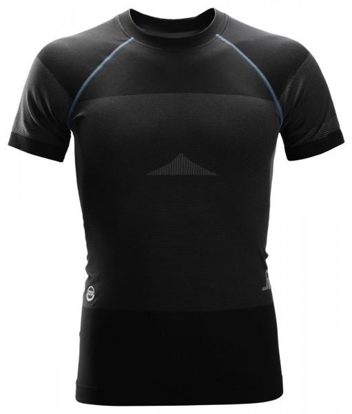 LiteWork, Nahtloses 37.5® Kurzarm-Shirt, schwarz