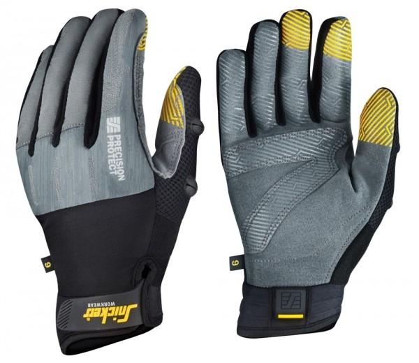 Precision Protect Handschuhe PAAR, Rock grey/Black