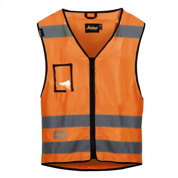 Hi-Vis Weste, Klasse 2, High vis orange
