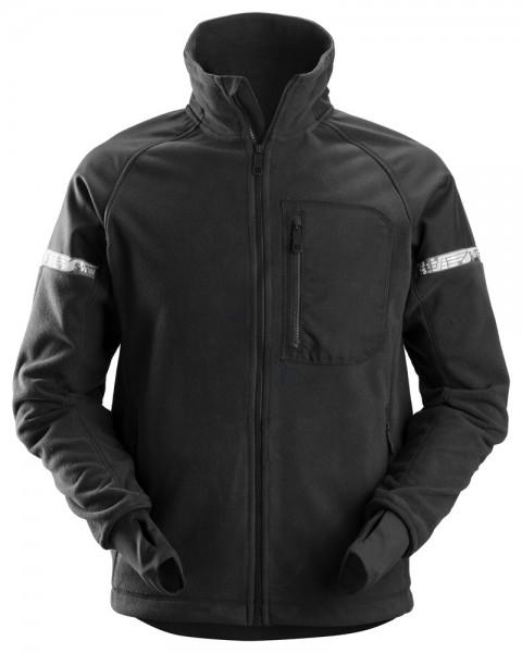 AllroundWork Fleece Arbeitsjacke schwarz