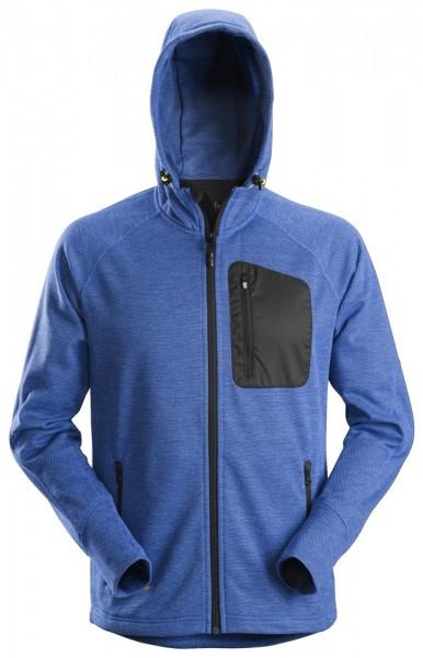FlexiWork Fleece Hoodie, Blue/Black