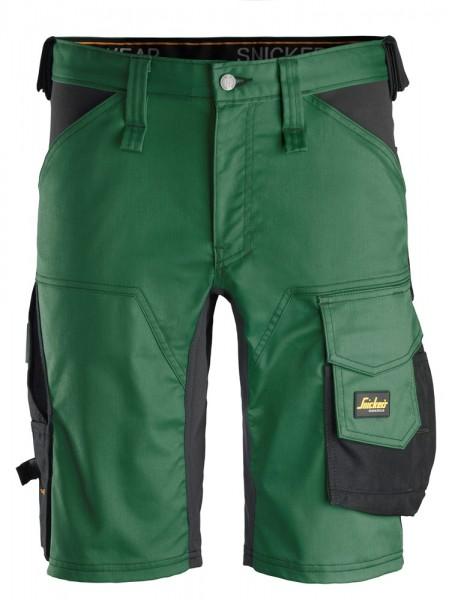 """Stretch Shorts """"AllroundWork"""", grün/schwarz"""