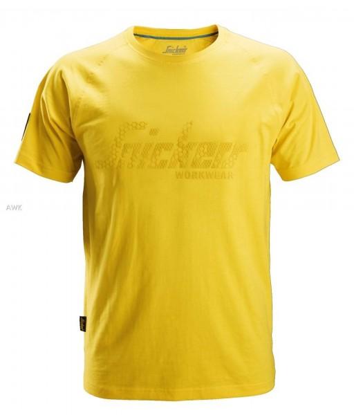 Logo T-Shirt, Yellow, BW200