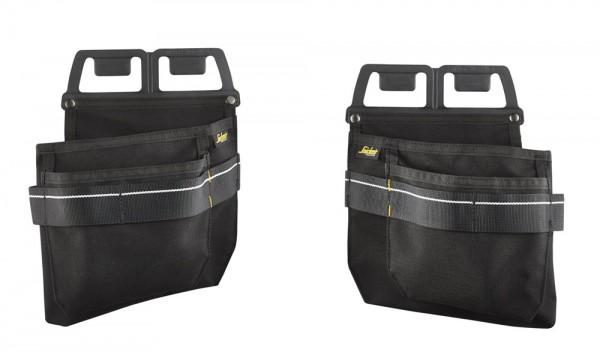 Nagel- & Schrauben Taschen, Black\Black