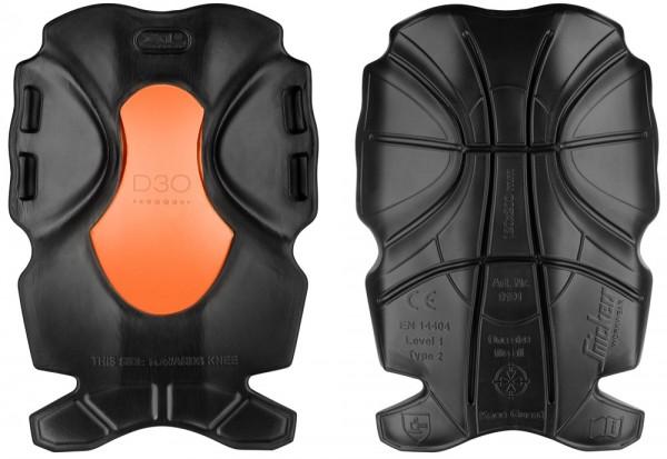 XTR D3O Kniepolster, Black\Orange