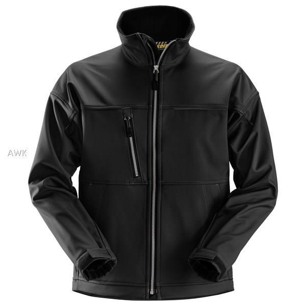 Profil Softshell Jacke, Black