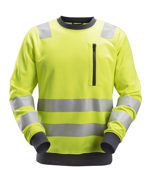 AllroundWork, High-Vis Sweat-Shirt, warngelb