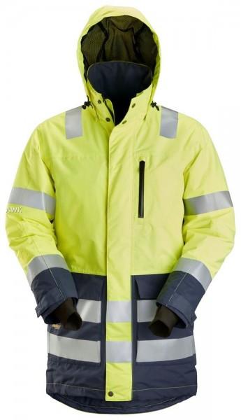 High-Vis AllroundWork wasserdichter Parka, yellow