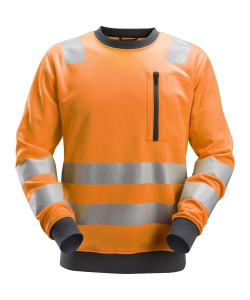 AllroundWork, High-Vis Sweat-Shirt, warnorange