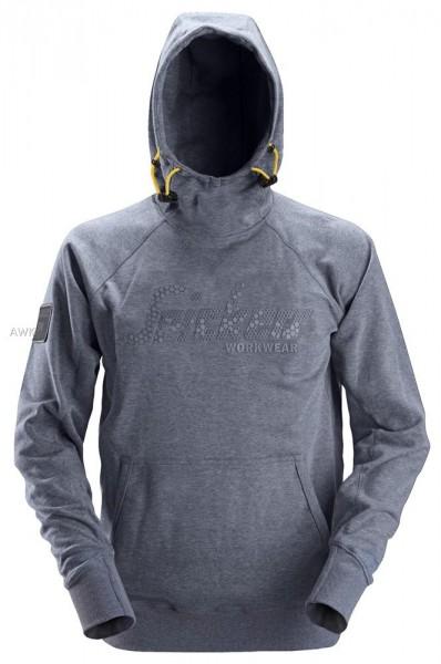 Logo Hoodie, Dark Blue Melange, MG280