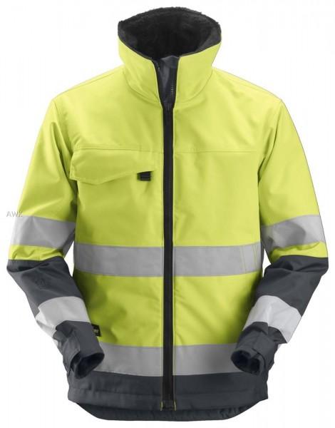 Core High-Vis, Arbeitsjacke, yellow-steel grey