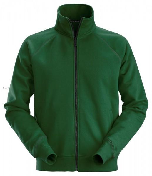 Sweatshirt-Arbeitsjacke mit Reißverschluss, Forest