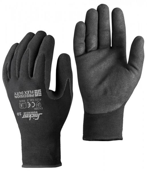 Präzisions FLEX Duty Handschuhe PAAR, Black\Black