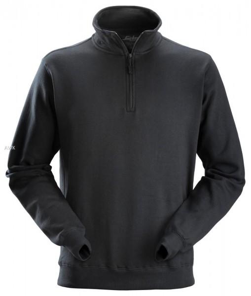 Sweatshirt Troyer, Black