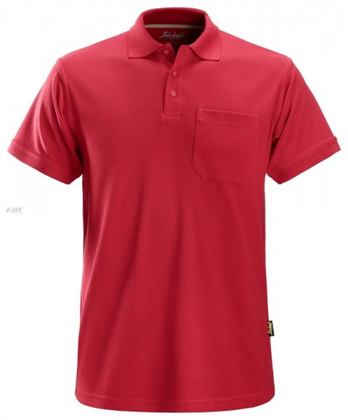 Polo Shirt, Chili red