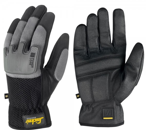 Power Core Handschuhe PAAR, Black/Rock Grey