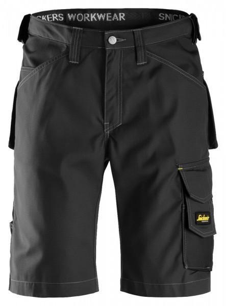 Handwerker Shorts, Rip Stop, Black\Black