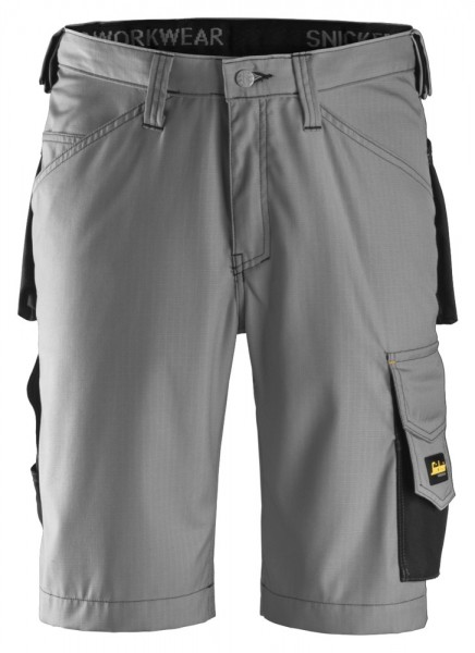 Handwerker Shorts, Rip Stop, Grey\Black