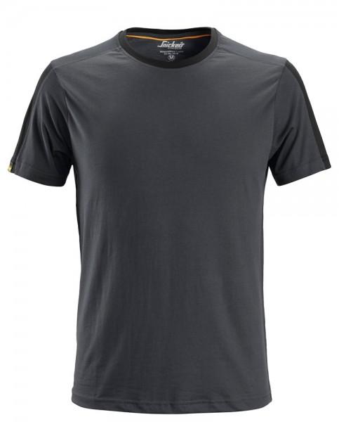 AllroundWork T-Shirt, Steel grey\Black