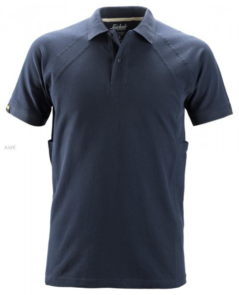 Polo Shirt mit MultiPockets™, Navy