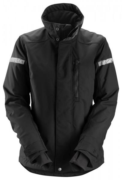 Damen-Winterjacke AllroundWork 37.5, Black\Black
