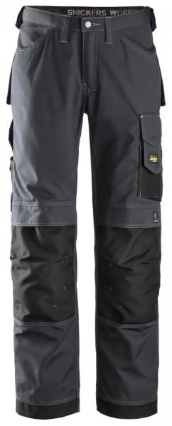 Handwerkerhose, Rip-Stop, Steel grey\Black