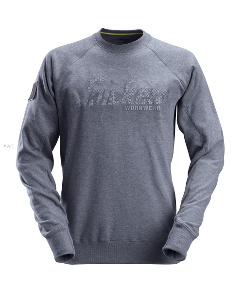Logo Sweatshirt, Dark Blue Melange, MG280