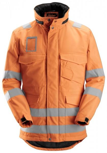 High-Vis Winterparka, Klasse 3, High vis orange
